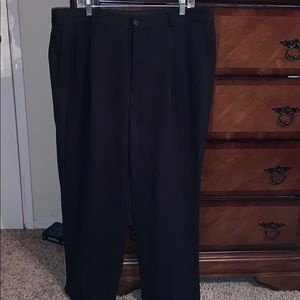 Men's black slacks size 40/30 Claiborne like new